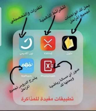 تطبيقات مفيدة للمذاكرة
