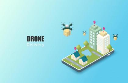 خدمة التوصيل بالدرون (Drone Delivery)