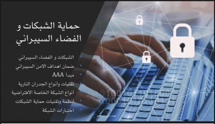 حماية الشبكات والفضاء السيبراني